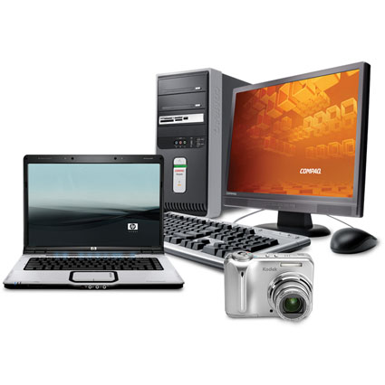 Laptops or Desktop Computers